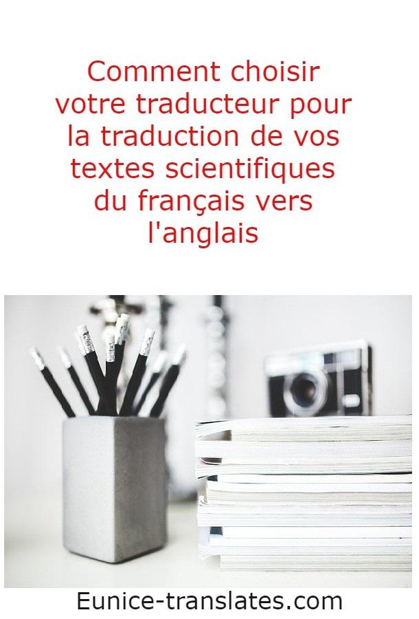 Je vous propose un service de correction et relecture de vos articles scientifiques rédigés en anglais